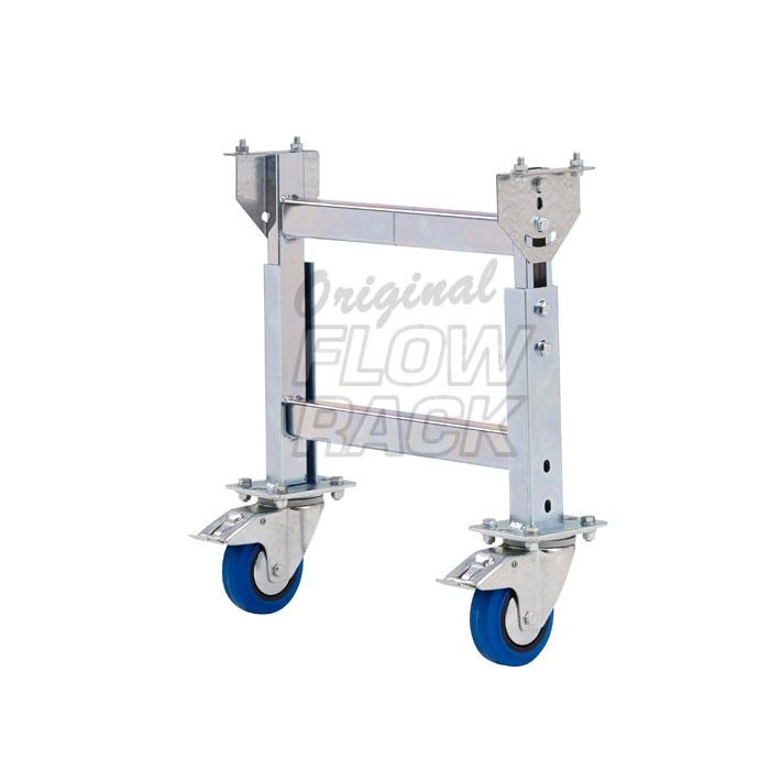 Fahrbare H-Stütze Rollenbahn